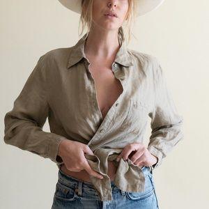 Modern Linen Shirt